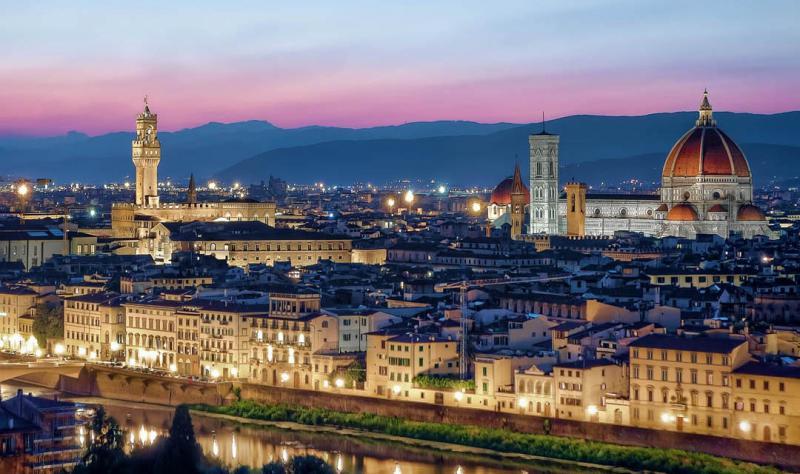 Ponte Ognissanti dal 1 Novembre Firenze Hotel De La Pace