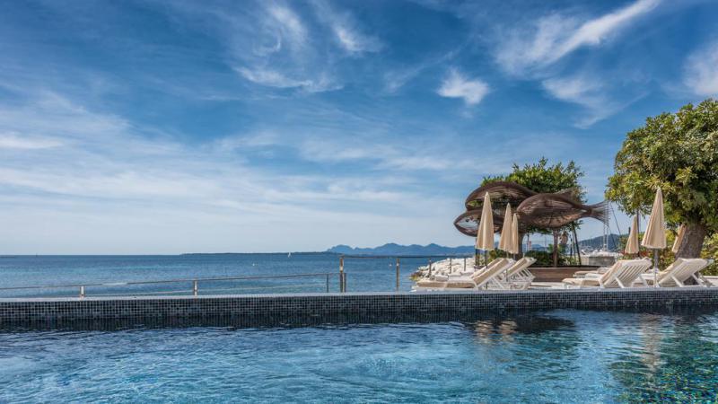 Cap dAntibes Beach Hotel 3 Notti Design Suite Partenze Agosto - Francia