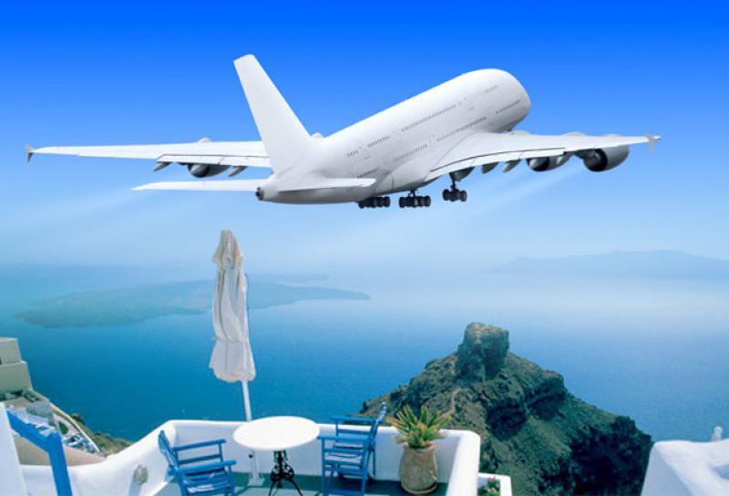 Volo Per La Grecia