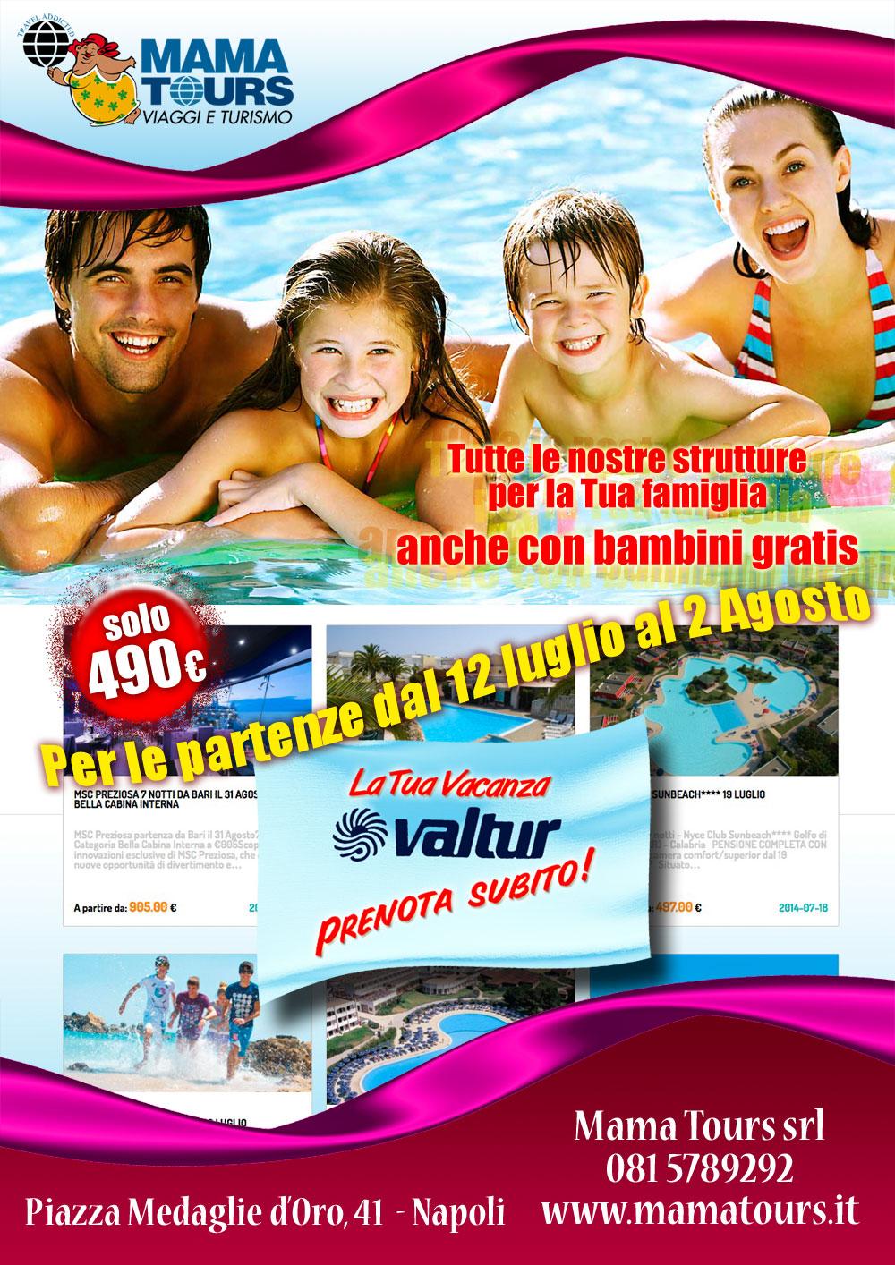 Viaggi vacanze in Italia Villaggi Valtur - Vacanze-italia
