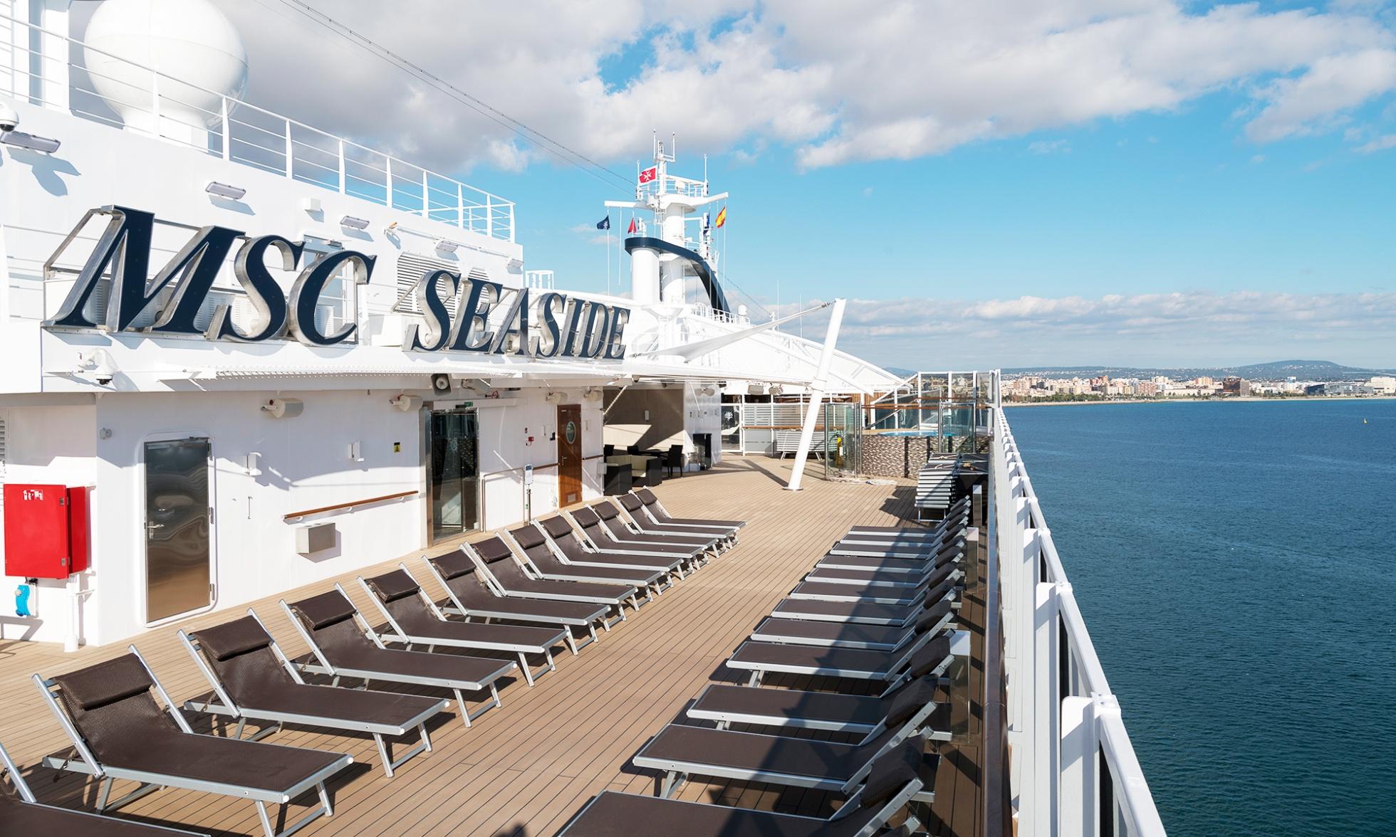 Crociera MSC Seaside Partenza 21 Agosto 7 Notti Cabina Esterna cat. Bella