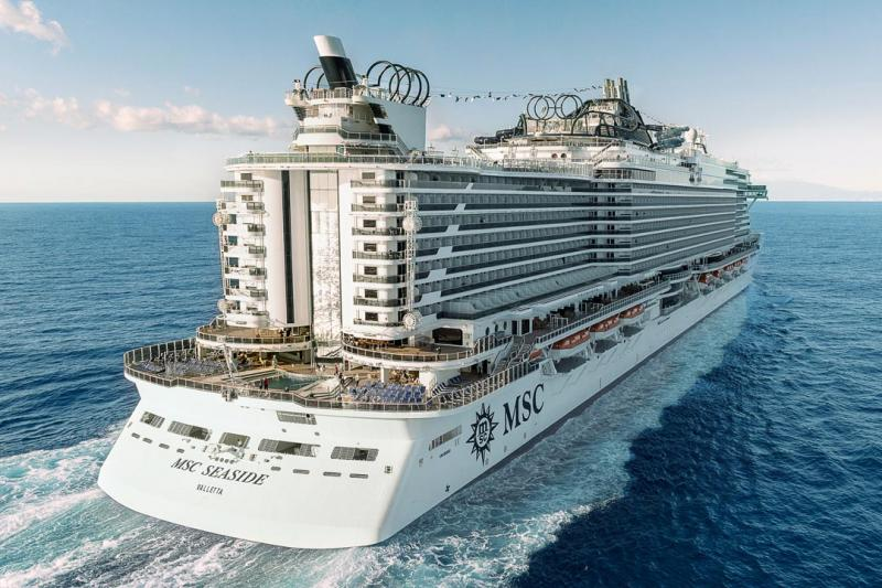 Crociera MSC Seaside Partenza 21 Agosto 7 Notti Cabina con Balcone cat Fantastica - Seaside