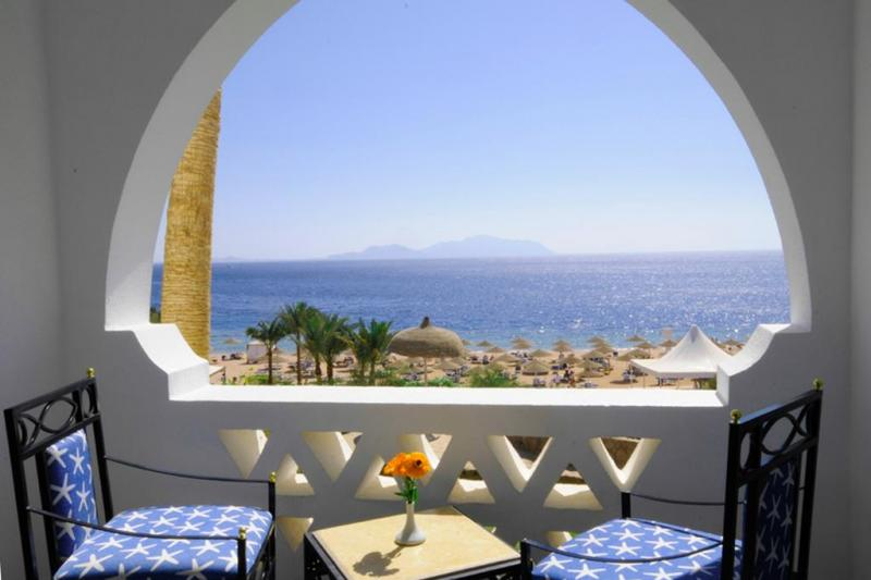 SHARM EL SHEIKH DOMINA AQUAMARINE HOTEL & RESORT 7 NOTTI CAMERA BEACH VIEW…