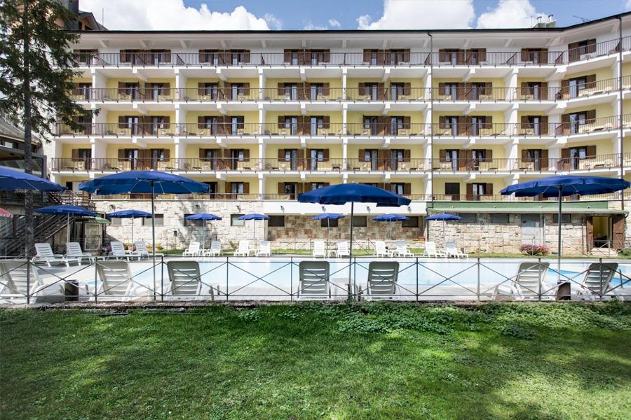Grand Hotel del Parco in Mezza Pensione